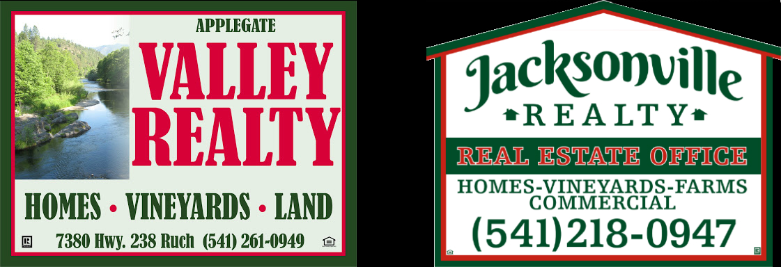Applegate Valley & Jacksonville Realty