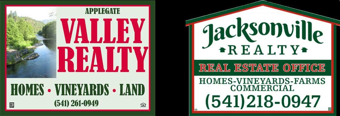 Applegate Valley & Jacksonville Realty